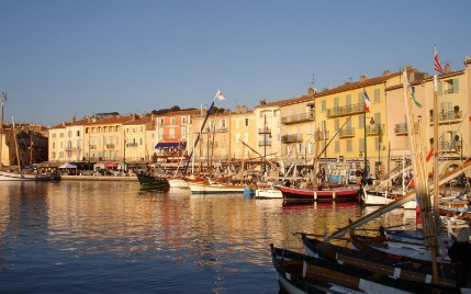 St Tropez's 'Vieux Port' is a reminder of the village's maritime heritage