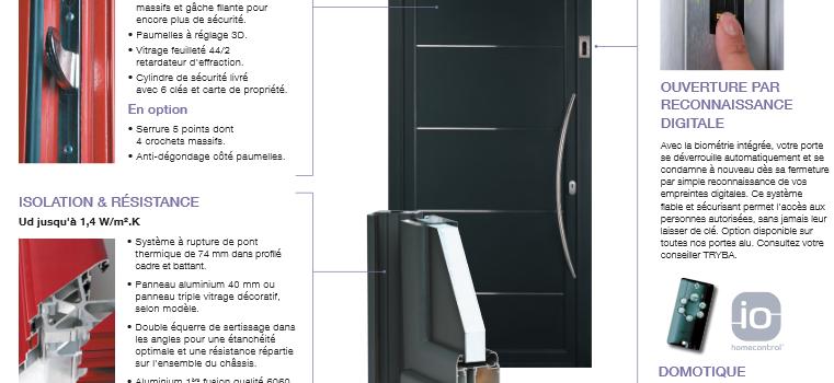 Tryba : de style classique, traditionnel ou contemporain, des portes de choix !